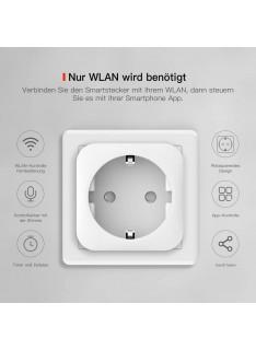 Prize si intrerupatoare - Priza smart plug Tuya WiFi JX04.03