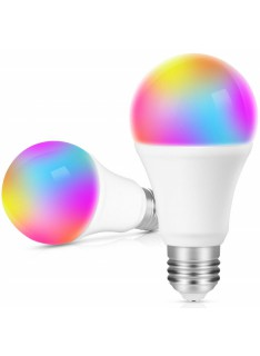 Prize si intrerupatoare - Bec LED RGB Tuya Smart Wifi JXB20.02