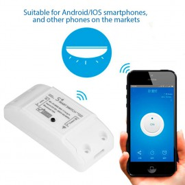 Prize si intrerupatoare - Releu on/off Tuya Smart WiFi SCW NF101.05