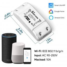 Prize si intrerupatoare - Releu on/off Tuya Smart WiFi SCW NF101.06