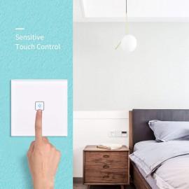 Prize si intrerupatoare - Intrerupator Smart Tuya Wifi  JX15.07