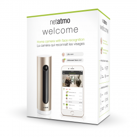 Securitate - camera de supraveghere de interior smart wifi Netatmo Welcome NSC01-EU.02