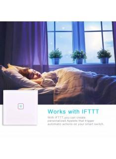 Prize si intrerupatoare - Intrerupator Smart Tuya Wifi  JX15.04