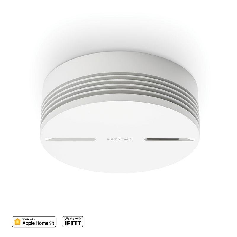 Senzori smart - senzor de fum wifi Netatmo Smart Smoke Alarm NSA-EC.01
