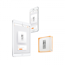 Incalzire climatizare - termostat wifi smart wireless Netatmo NTH01-EN-EU.06
