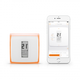 Incalzire climatizare - termostat wifi smart wireless Netatmo NTH01-EN-EU.04