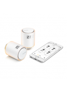 Incalzire climatizare - pachet 2 capete termostat si releu Netatmo Starter Pack NVP-EN.01