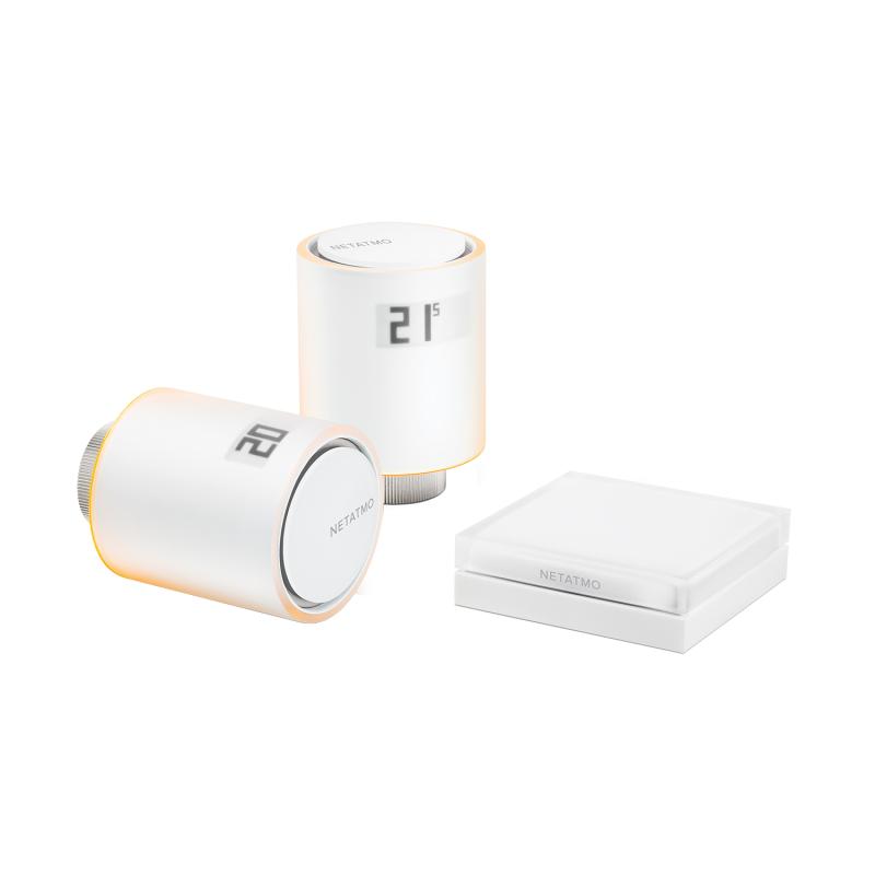 Incalzire climatizare - pachet 2 capete termostat si releu Netatmo Starter Pack NVP-EN.02